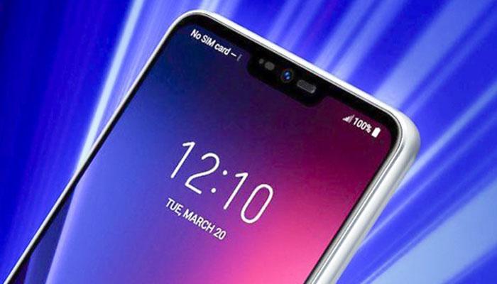 pantalla frontal del LG G7 ThinQ