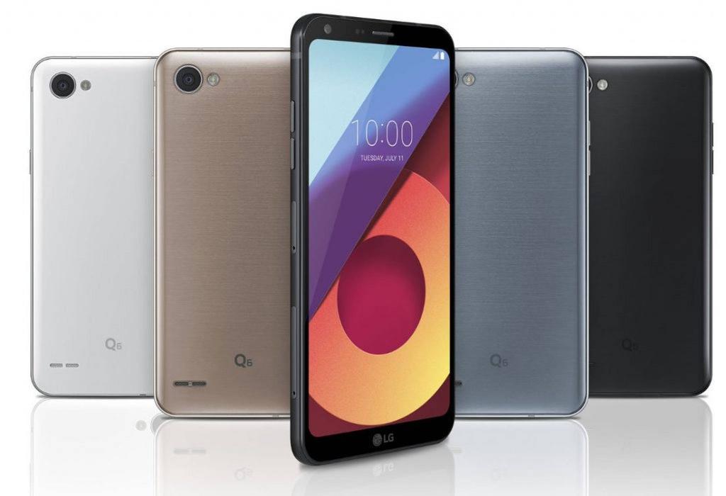 Diseño del LG Q6