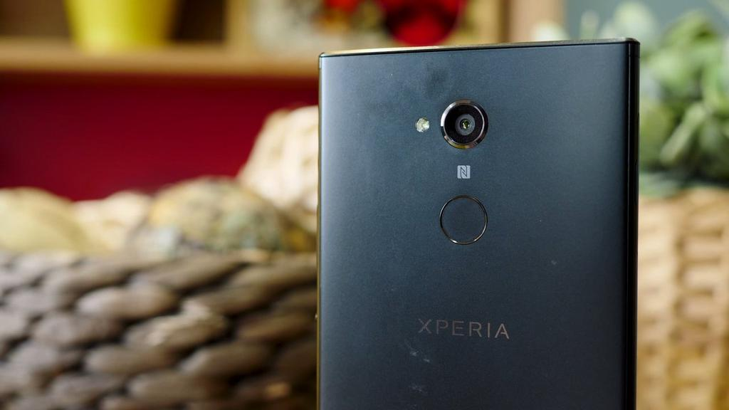 lector de huellas del Sony Xperia XA2 Ultra