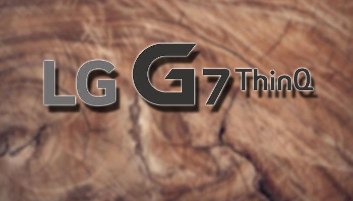 Logotipo del LG G7 ThinQ