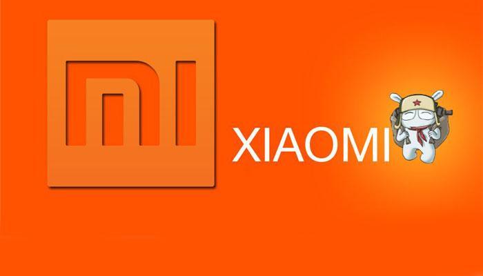 ogotipo Xiaomi con MITU y fondo naranja