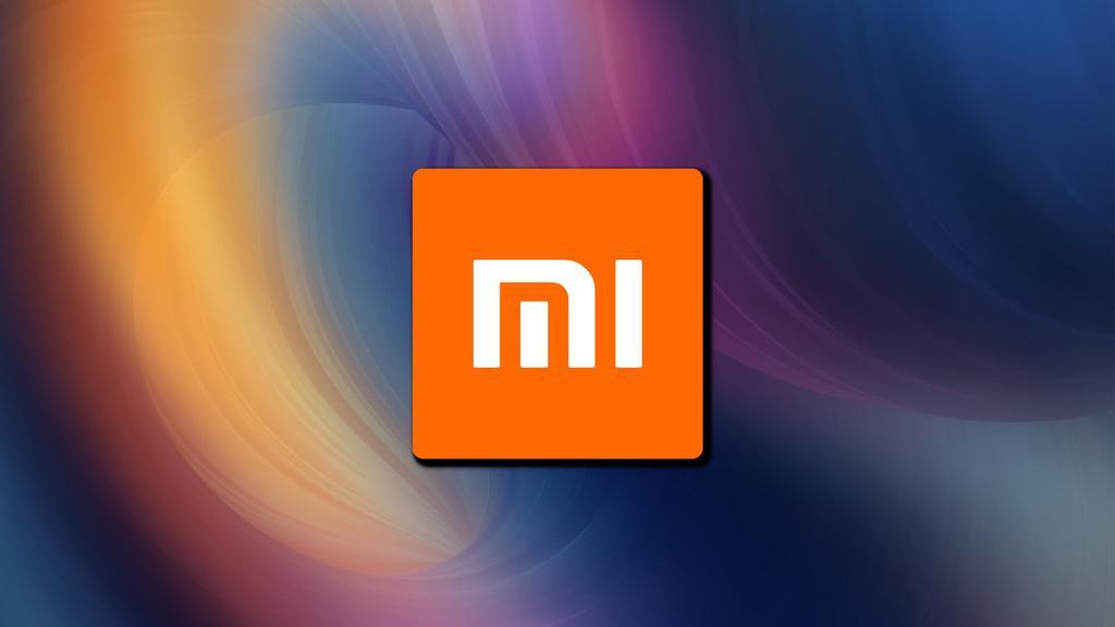 Logotipo de Xiaomi con fondo de colores