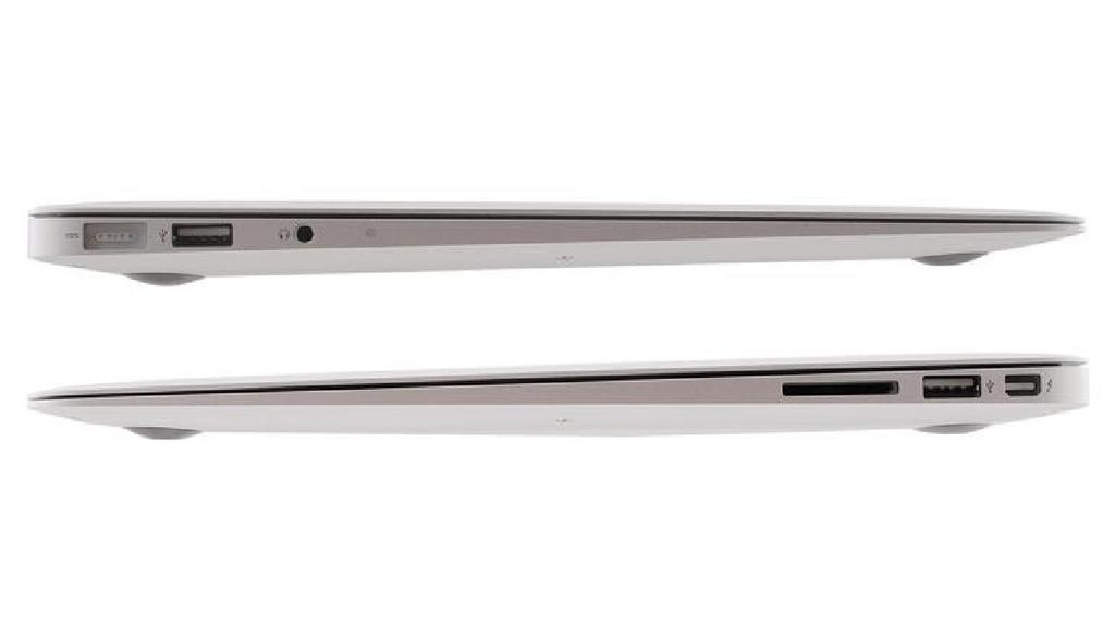 Lateral del MacBook Air barato