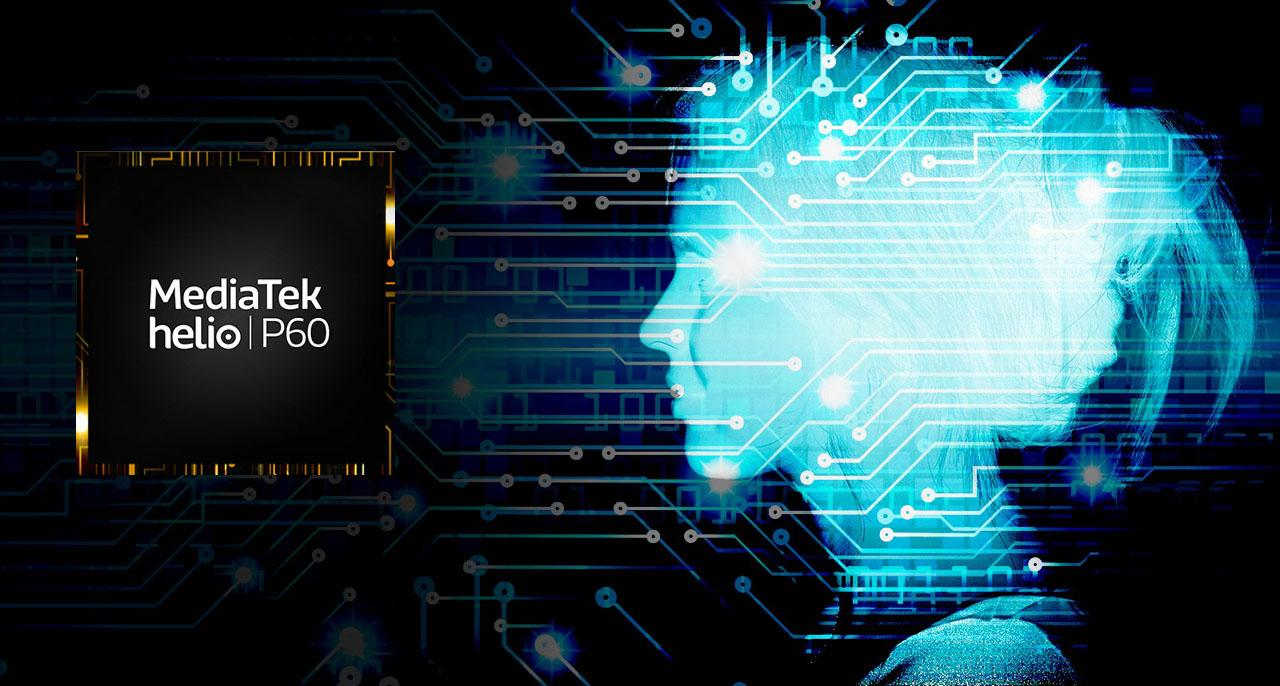 procesador MediaTek Helio P60 fondo neural