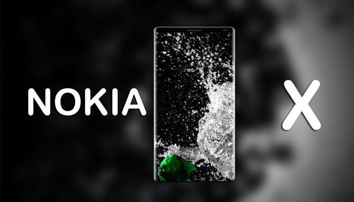 Imagen Nokia X con fondo negro
