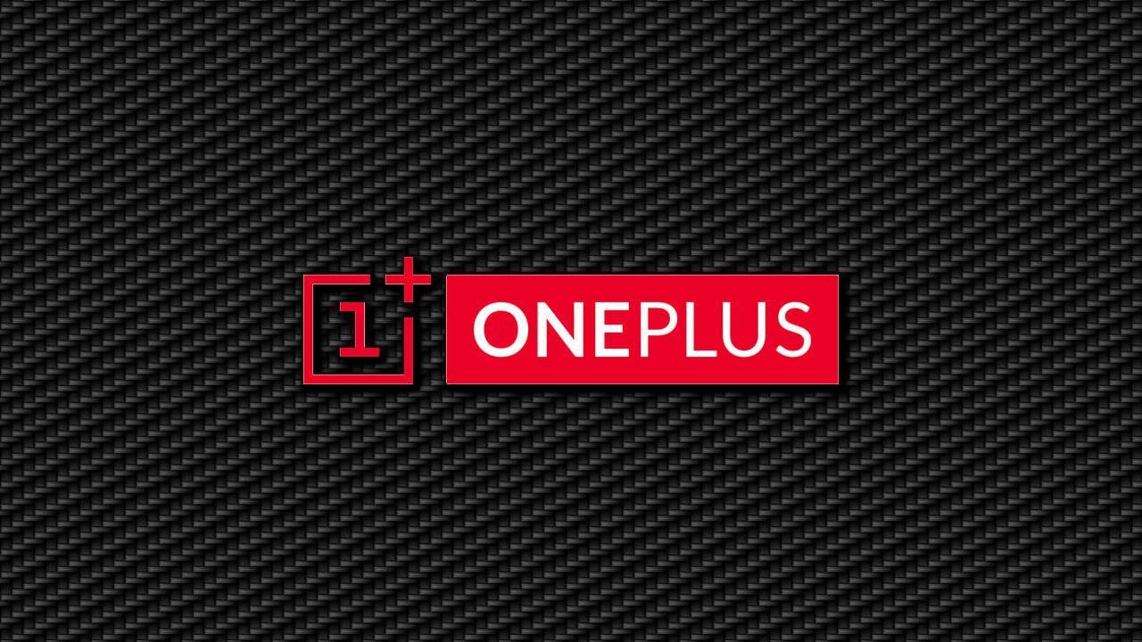 Logotipo de OnePlus con fondo negro