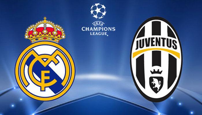 Escudos del partido Real Madrid – Juventus