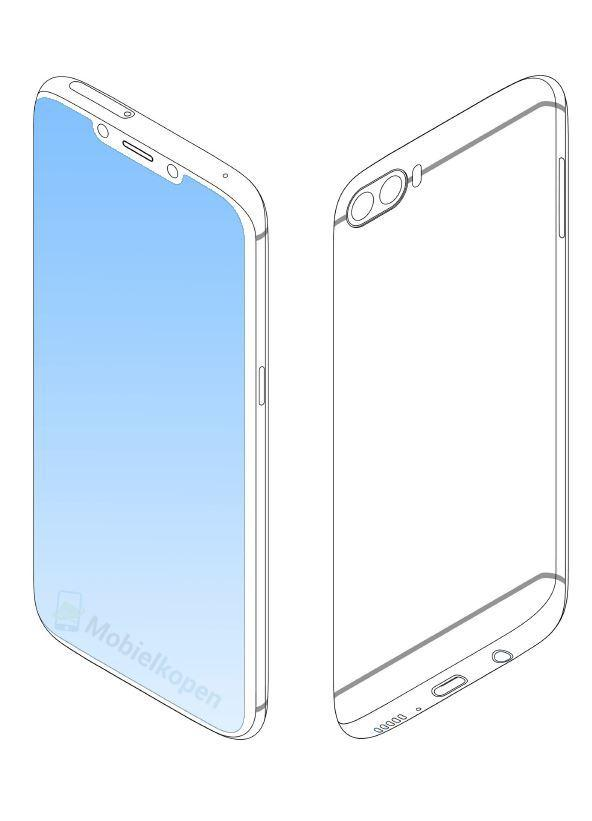 Samsung patente notch