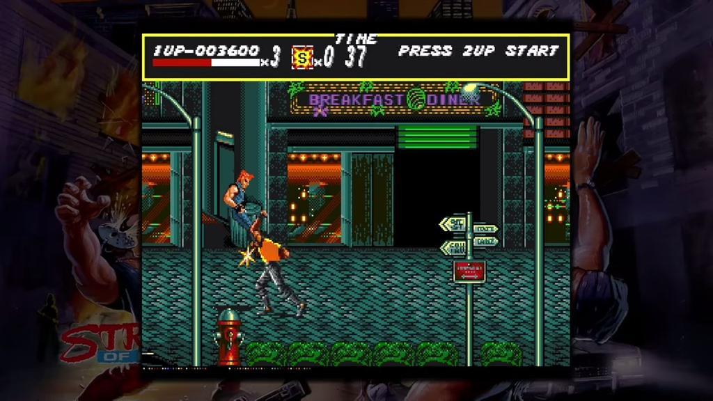 JuegoColección Vintage Sega: Streets of Rage para Xbox
