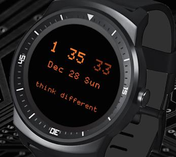 Aplicación Retro Watch Pro