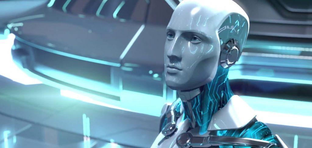 Robot con forma humana