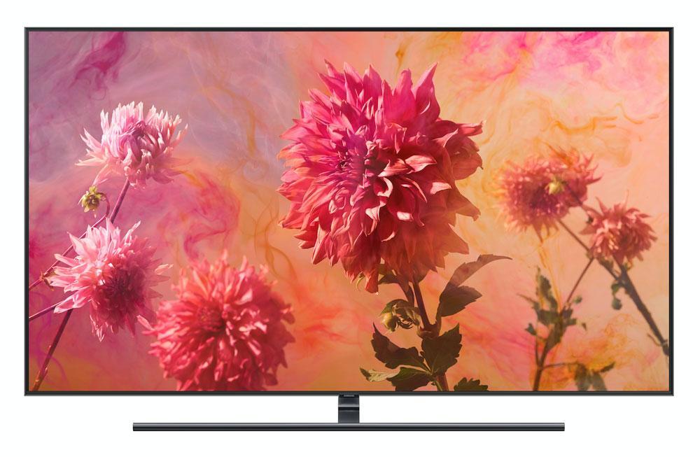 Imagen frontal de Samsung QLED 2018