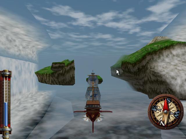 Juego Skies of Arcadia de Dreamcast