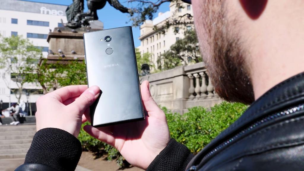Trasera del Sony Xperia XA2 Ultra