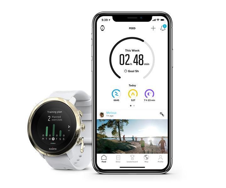 Reloj Suunto 3 Fitness con aplicación