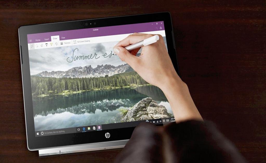 Uso del Stylus en con el HP Chromebook x2