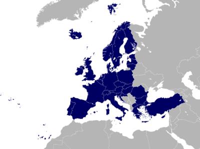 Paíes de la Unión Europea y asociados