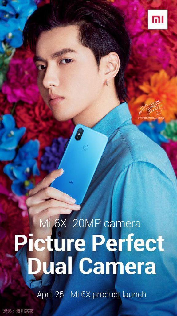 Póster del Xiaomi Mi A2 trasera