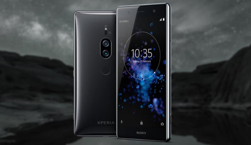 Sony Xperia XZ2 Premium de color negro