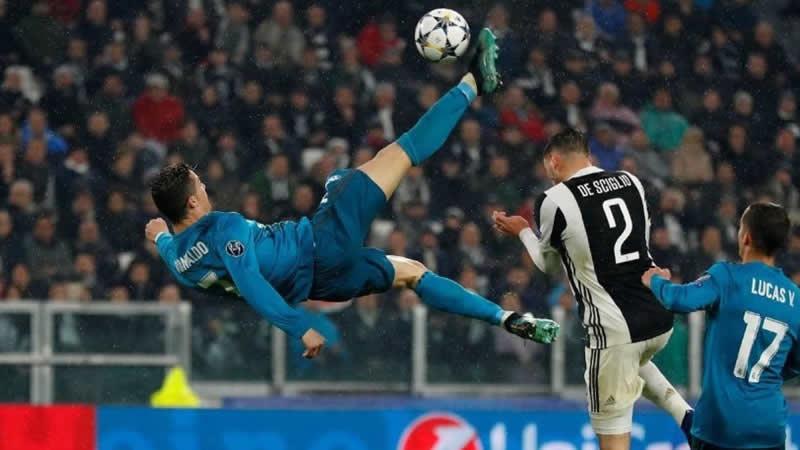 Gol de chilena de Cristiano Ronaldo Real Madrid – Juventus