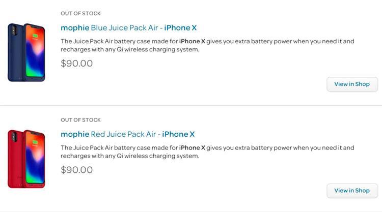 carcasa para el iPhone X
