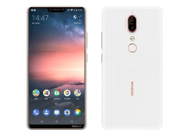 Posible diseño del Nokia 6X