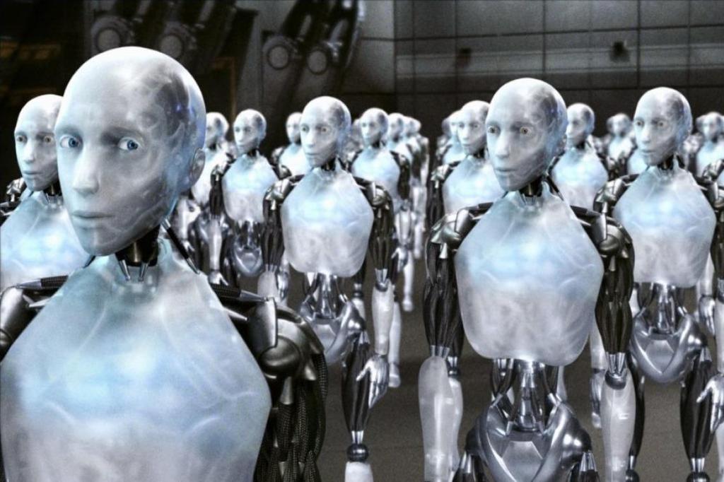 Robots películas Yo, Robot