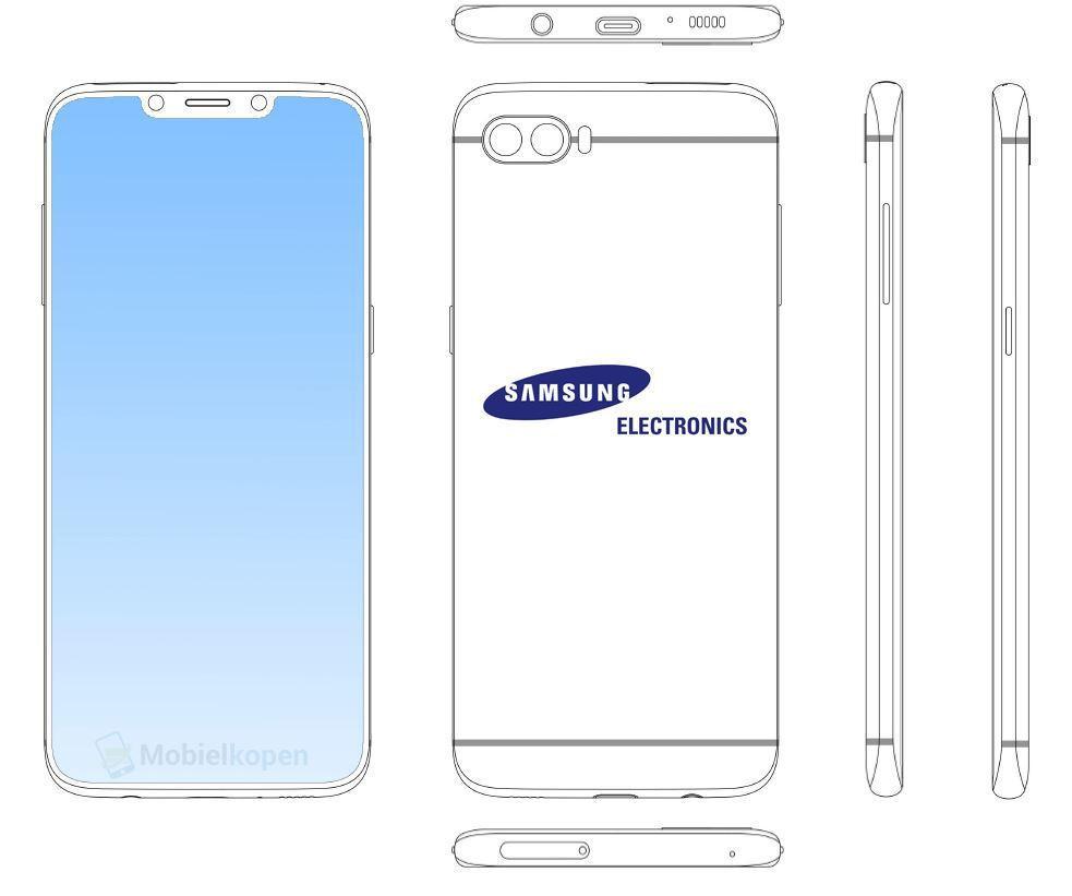 Patente notch de Samsung