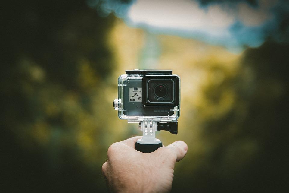Uso de las mejores mejores cámaras deportivas