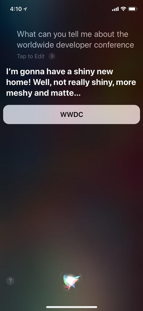Nuevo altavoz compatible con Siri