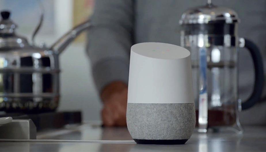 Altavoz inteligente de Google