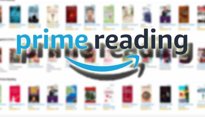 Logotipo de Amazon Prime Reading con fondo blanco