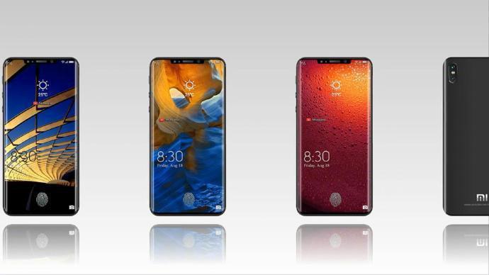 Posible diseño del Xiaomi Mi 8