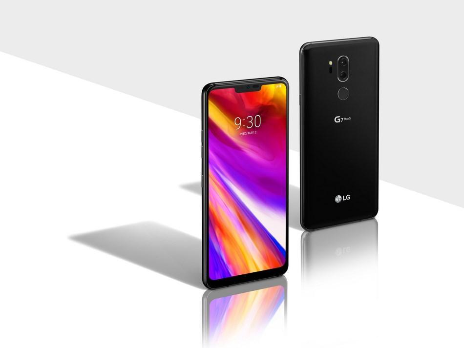 diseño del LG G7 ThinQ