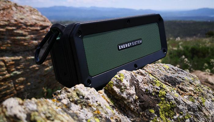 Altavoz Energy Outdoor Box Adventure en exterior