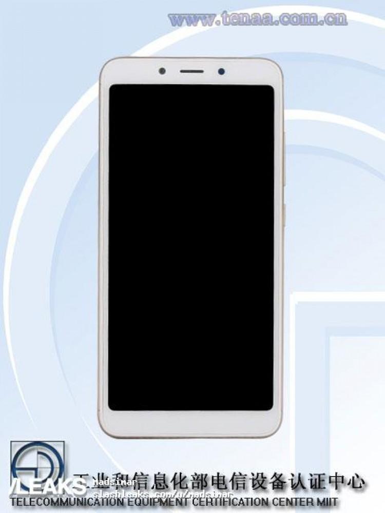 Imagen frontal del Xiaomi Redmi 6