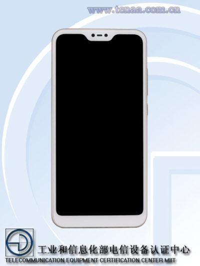 Imagen frontal del Xiaomi Redmi Note 6