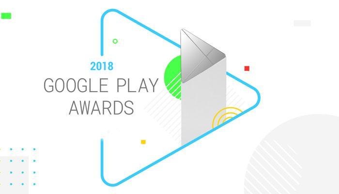 Logo Google Play Awards 2018