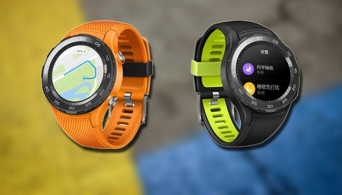 Aspecto del smartwatch Huawei Watch 2 2018