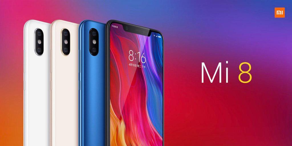Aspecto del Xiaomi Mi 8