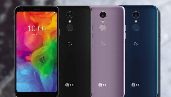teléfono LG Q7