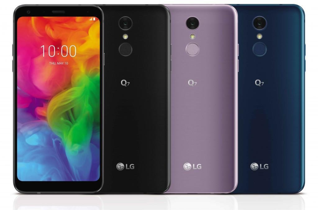 Colores del LG Q7