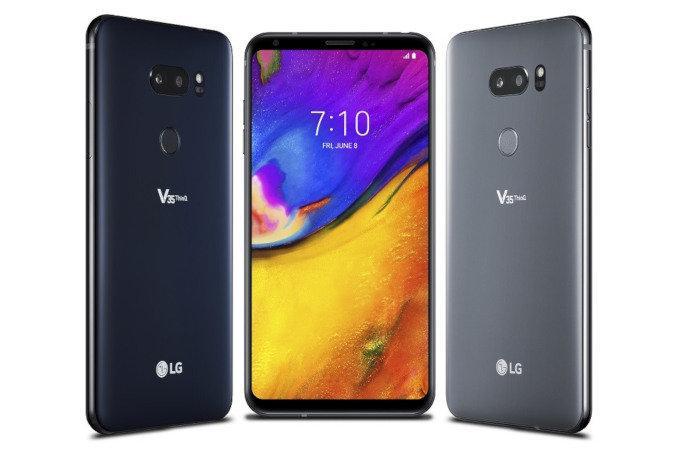 Diseño del LG V35