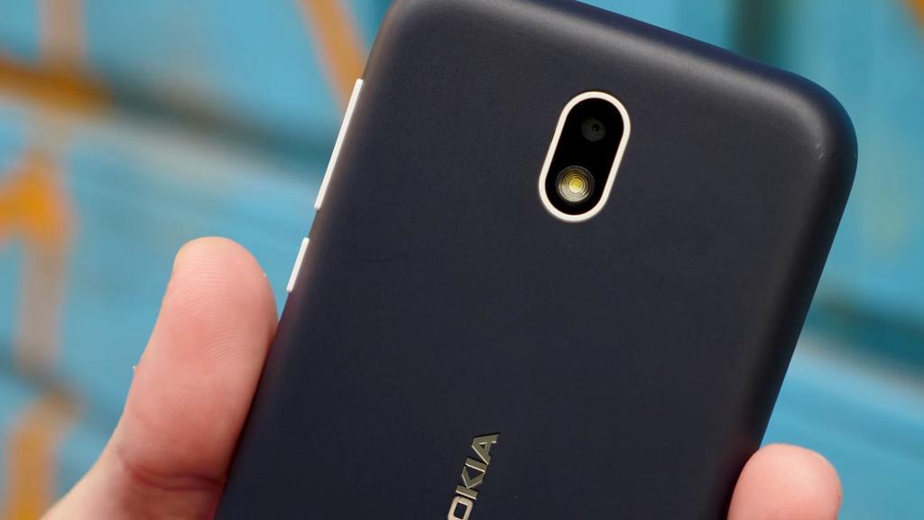 Cámara del Nokia 1