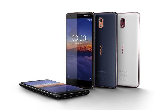 Diseño nuevo Nokia 3.1