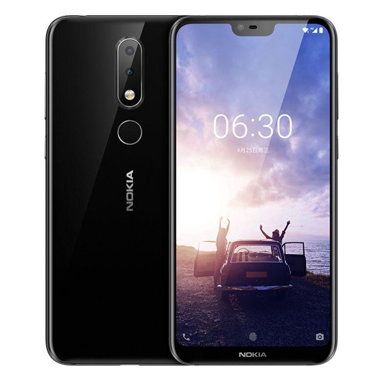 Diseño del teléfono Nokia X6