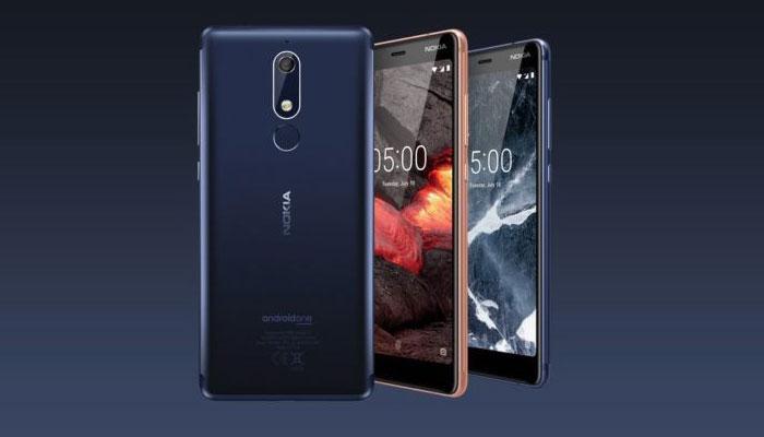 Nuevos teléfonos Nokia 5.1, Nokia 3.1 y Nokia 2.1