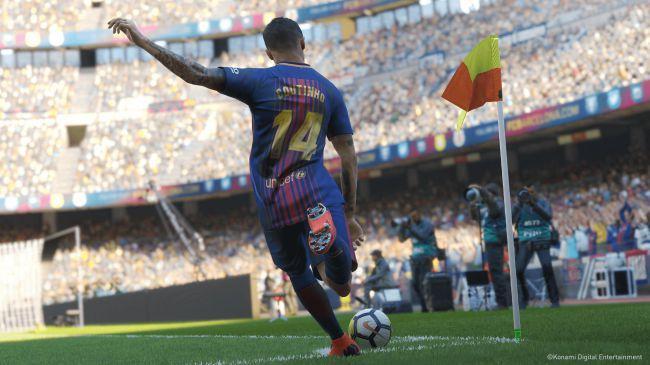 Gameplay de PES 2019