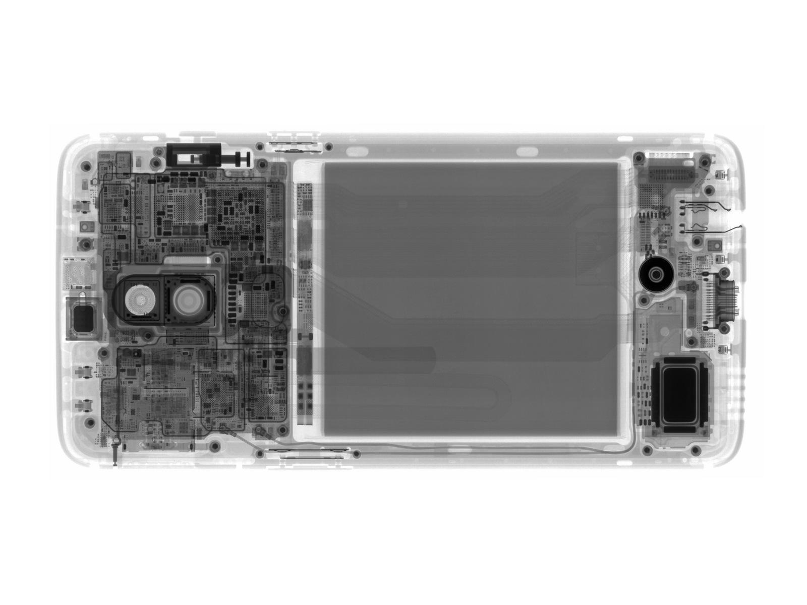 OnePlus 6 desmontado