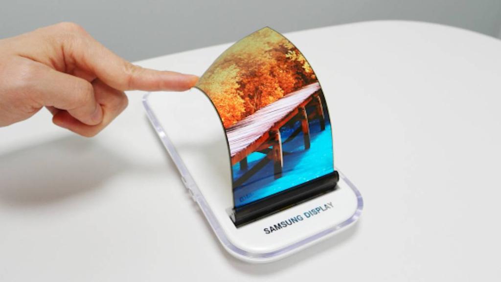 pantalla plegable del Samsung Galaxy X